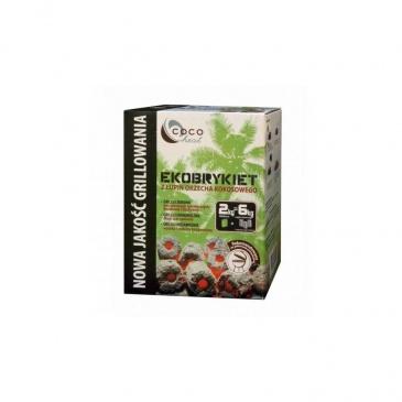 Ekobrykiet kokosowy CocoHeat 2 kg
