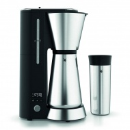 Ekspres do kawy+ kubek termiczny Kitchenminis WMF Electro czarno-srebrny