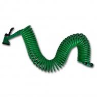 Elastyczny, spiralny wąż ogrodowy z dyszami rozpylającymi 15 m