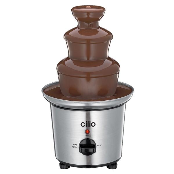 Elektryczna fontanna czekoladowa Cilio 33 cm ci-490060