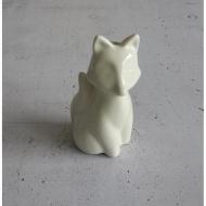Figurka do uwalniania wilgoci 9,5cm Mason Cash InTheForest Lis biała