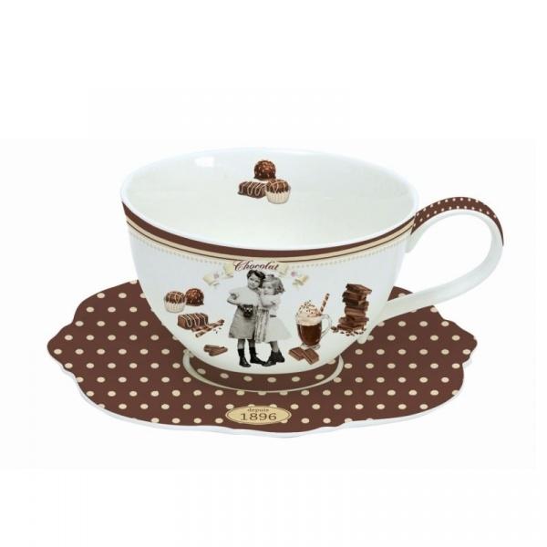 Filiżanka do gorącej czekolady 0,4L Nuova R2S Chocolate Vintage 1137 CHOV