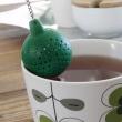 Filiżanka z silikonową zaparzaczką Sagaform Tea zielona SF-5015362