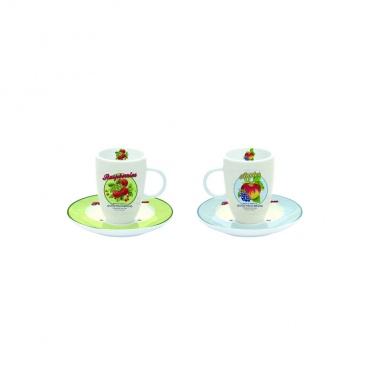 Filiżanki espresso z talerzykami 2 szt. Nuova R2S Nostalgie