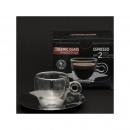 Filiżanki termiczne do espresso 2 szt. + podstawki - Luigi Bormioli