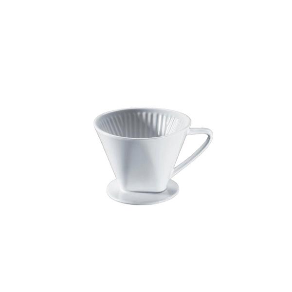 Filtr do kawy rozmiar 4 Cilio biały CI-104943