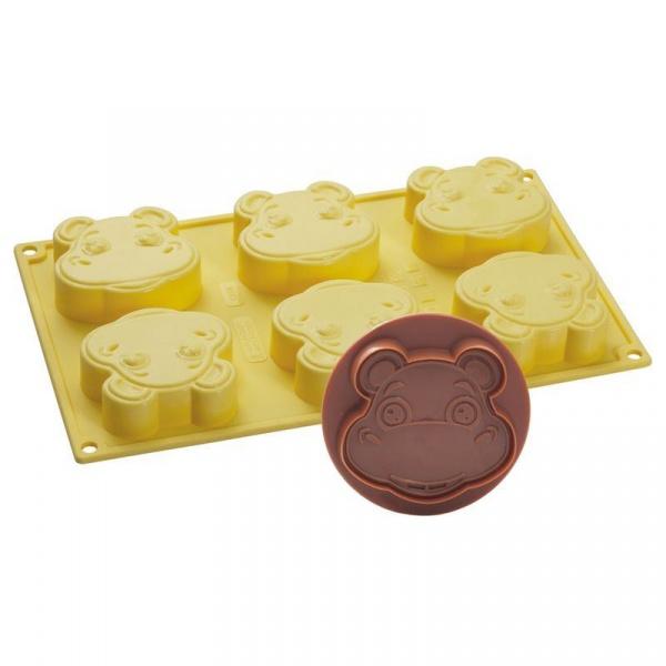 Foremka do lodów i ciasta + wykrawaczka Pavoni Hipopotam CK08GL8S
