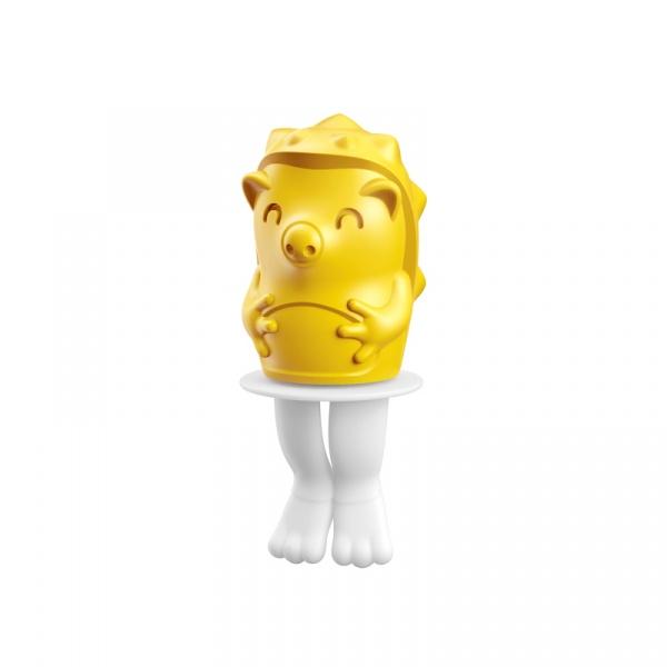 Foremka do lodów na patyku JEŻYK BOLT Zoku Character Pops żółto-biała ZK123-010
