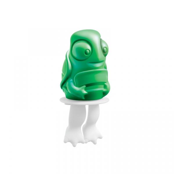 Foremka do lodów na patyku ŻÓŁWIK STEWIE Zoku Character Pops zielono-biała ZK123-012