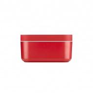 Foremka do lodu i pudełko Ice Box Lekue Hielo czerwona