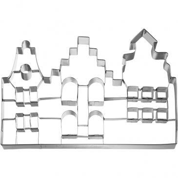 Foremka do wykrawania ciastek Kamieniczki Birkmann srebrna