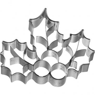Foremka do wykrawania ciastek Ostrokrzew Birkmann srebrna