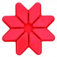 Forma 8 elementów Star Pavoni Gwiazda czerwona