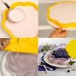 Forma do ciasta 28,5 cm Pavoni żółta FRT188GLS