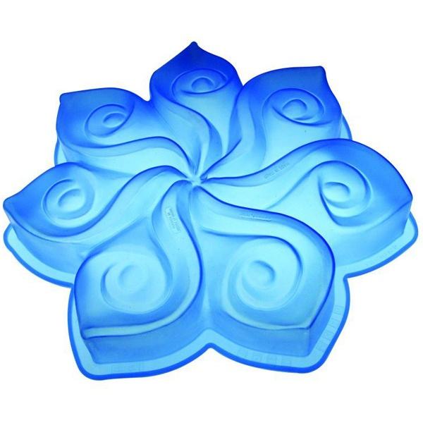 Forma do ciasta Calla Pavoni niebieska FRT007TBLS.2