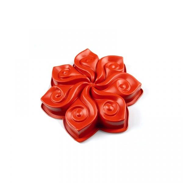 Forma do ciasta Pavoni Calla czerwona FRT007RSAS.2