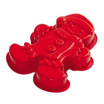 Forma do ciasta/piernika Pavoni GINGERMAN czerwona