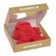 Forma do ciasta/piernika Pavoni GINGERMAN czerwona FRT183RSAS