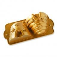 Forma do ciasta Ul 2,4 L Nordic Ware złota