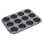 Forma do muffinów 12 ciastek Tala Performance czarna