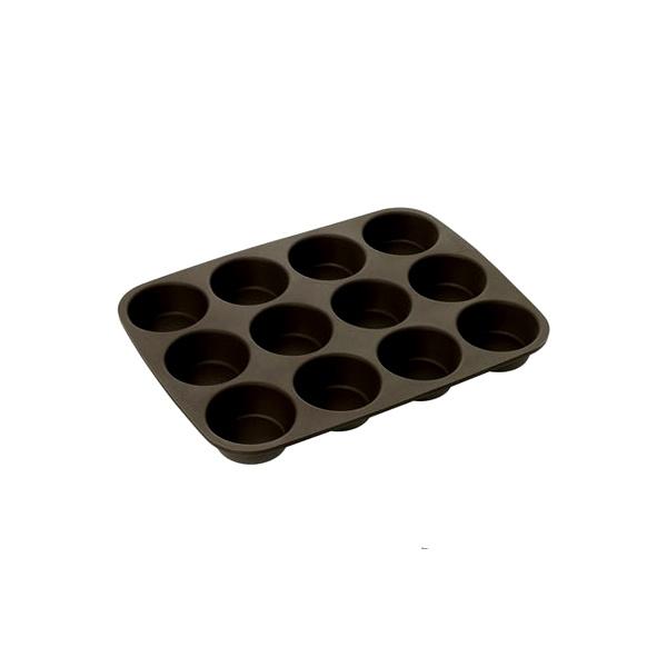 Forma na 12 babeczek Lurch FlexiForm brązowa LU-00085031