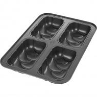 Forma na 4 mini chałki Birkmann Laib&Seele czarna