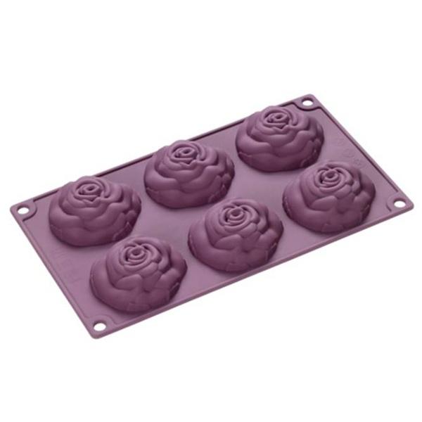 Forma na 6 ciasteczek Lurch róże LU-00085060