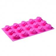 Forma na babeczki 15 sztuk różyczki Rosa Pavoni