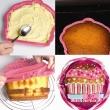 Forma na ciasto/tort Pavoni Cupcake różowa FRT170ROS