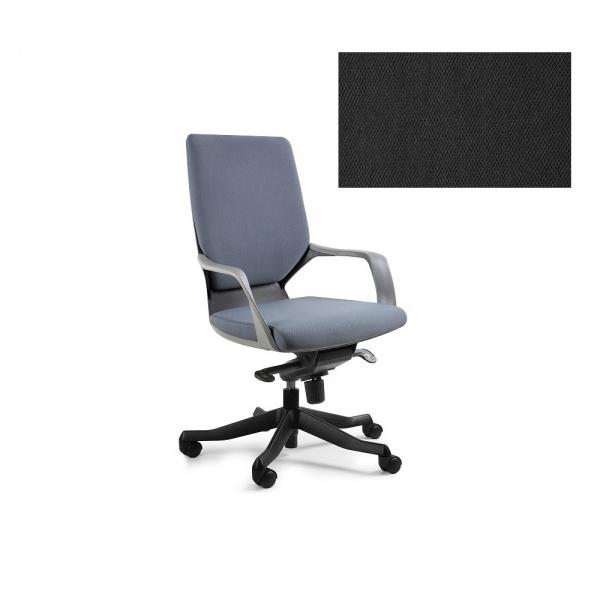 Fotel biurowy Apollo M Unique black W-908B-BL418
