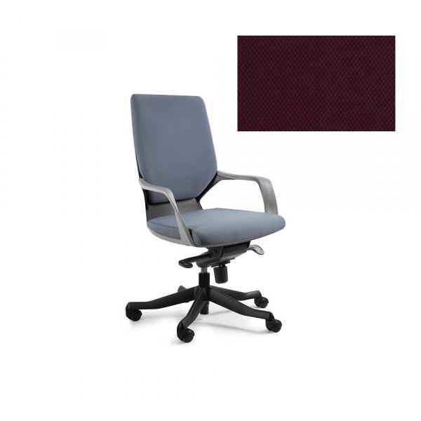 Fotel biurowy Apollo M Unique burgundy W-908B-BL403