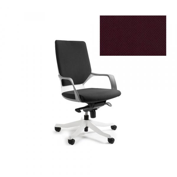 Fotel biurowy Apollo M Unique burgundy W-908W-BL403