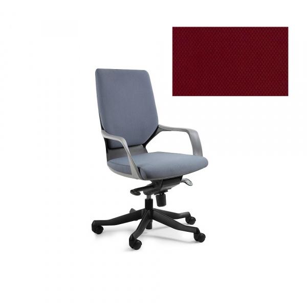 Fotel biurowy Apollo M Unique deepred W-908B-BL402