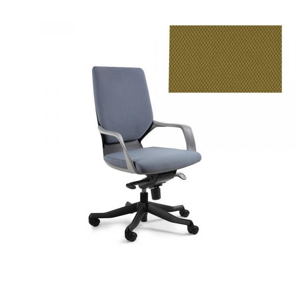 Fotel biurowy Apollo M Unique khaki W-908B-BL408