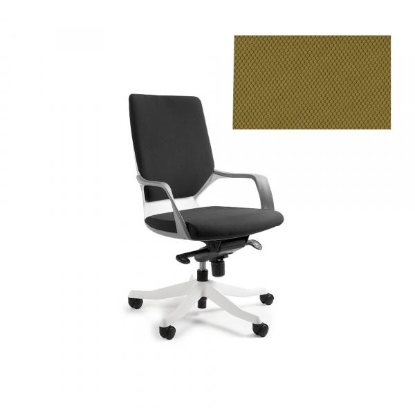 Fotel biurowy Apollo M Unique khaki W-908W-BL408