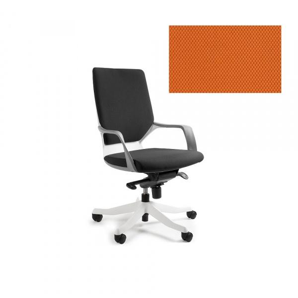 Fotel biurowy Apollo M Unique mandarin W-908W-BL405