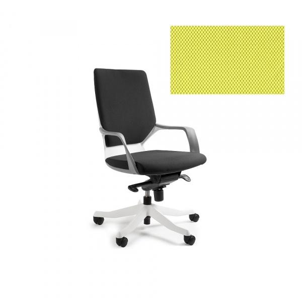 Fotel biurowy Apollo M Unique mustard W-908W-BL410