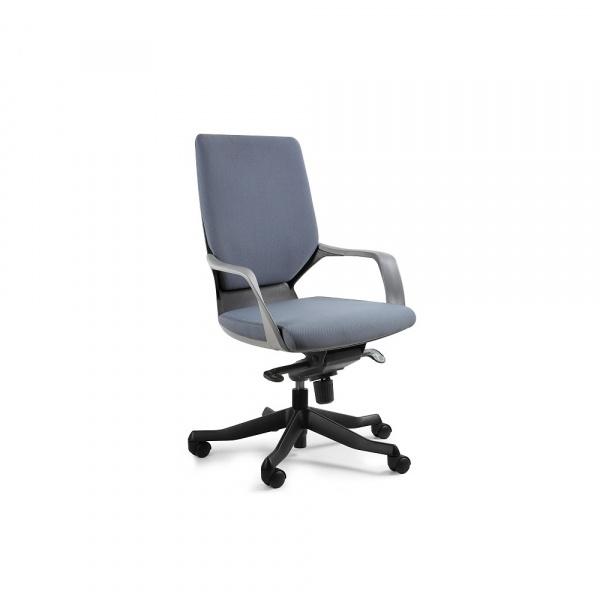 Fotel biurowy Apollo M Unique slategrey W-908B-BL417