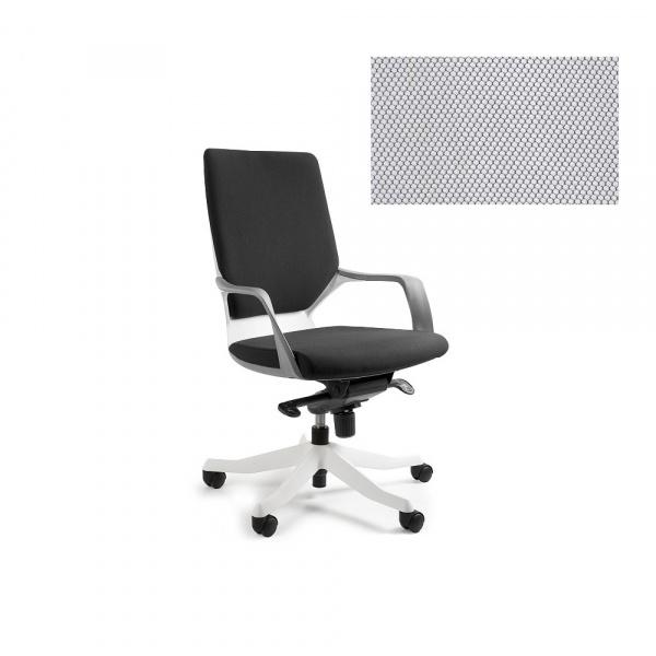 Fotel biurowy Apollo M Unique snowy W-908W-BL416