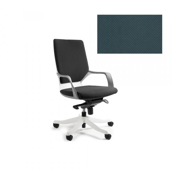 Fotel biurowy Apollo M Unique steelblue W-908W-BL414