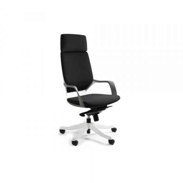 Fotel biurowy Apollo Unique black W-909W-BL418