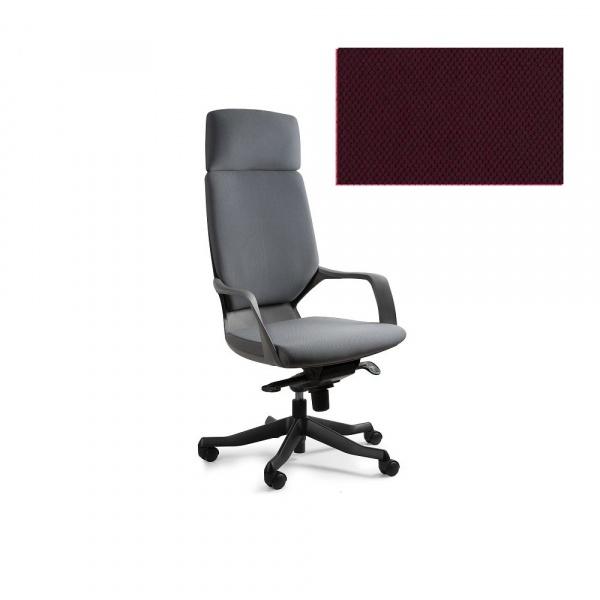 Fotel biurowy Apollo Unique burgundy W-909B-BL403