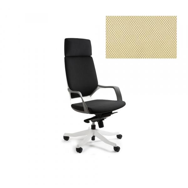 Fotel biurowy Apollo Unique buttercup W-909W-BL407