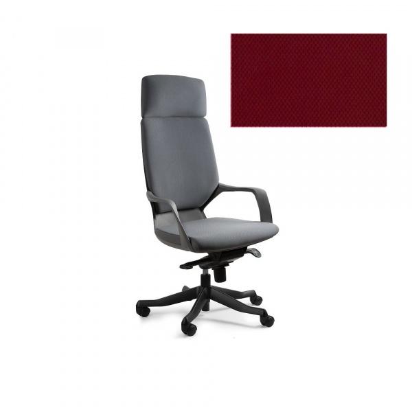 Fotel biurowy Apollo Unique deepred W-909B-BL402