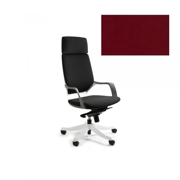 Fotel biurowy Apollo Unique deepred W-909W-BL402