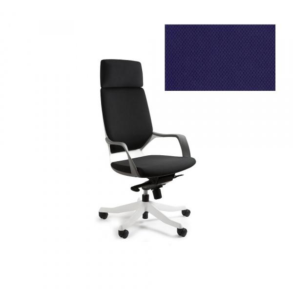 Fotel biurowy Apollo Unique navyblue W-909W-BL412