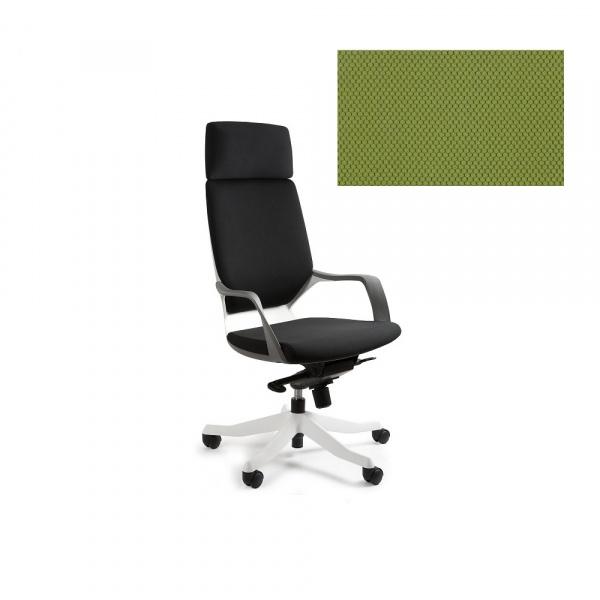 Fotel biurowy Apollo Unique olive W-909W-BL411