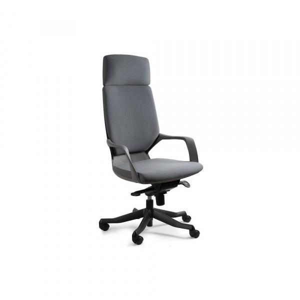 Fotel biurowy Apollo Unique slategrey W-909B-BL417