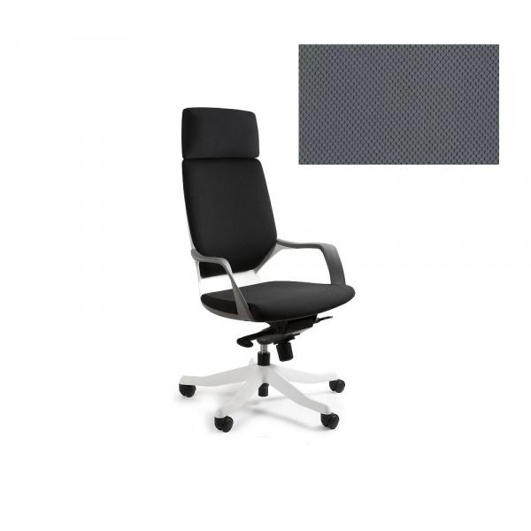 Fotel biurowy Apollo Unique slategrey W-909W-BL417