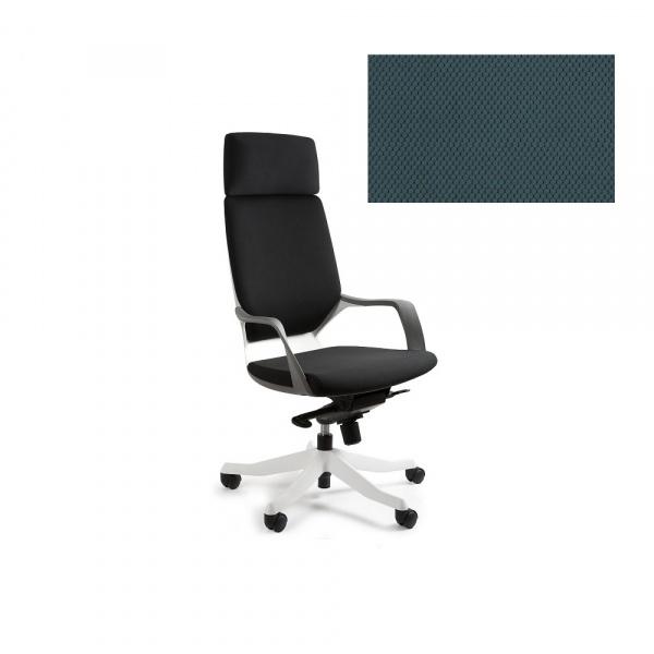 Fotel biurowy Apollo Unique steelblue W-909W-BL414